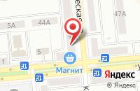 Схема проезда до компании Вивея в Новокуйбышевске
