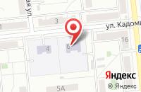 Схема проезда до компании Универсам  в Новокуйбышевске