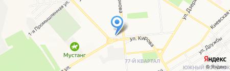 Банкомат АКБ ГАЗБАНК на карте Новокуйбышевска