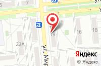 Схема проезда до компании Светлый дом в Новокуйбышевске