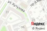 Схема проезда до компании Самара в Новокуйбышевске