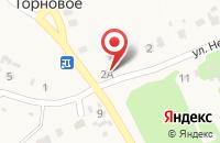 Схема проезда до компании Почтовое отделение в Торновом