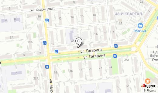 Новый стандарт. Схема проезда в Новокуйбышевске
