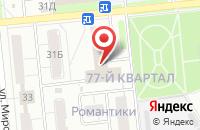 Схема проезда до компании Строительное Управление №22 в Новокуйбышевске