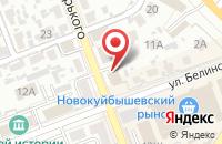 Схема проезда до компании Бакелит в Новокуйбышевске