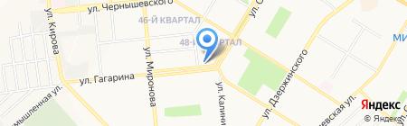 Пензенская мебель на карте Новокуйбышевска