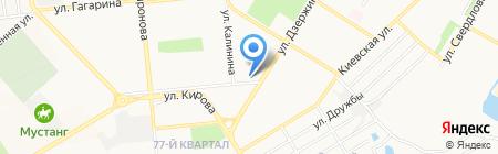 Банкомат КБ Солидарность на карте Новокуйбышевска