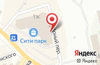 Схема проезда до компании ТехноСила в Новокуйбышевске