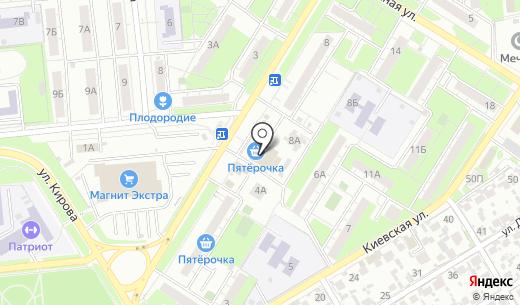 ЦентрОбувь. Схема проезда в Новокуйбышевске