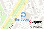 Схема проезда до компании Флоранс в Новокуйбышевске