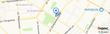РиэлтСервис на карте Новокуйбышевска