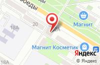 Схема проезда до компании Гемма в Новокуйбышевске