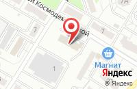 Схема проезда до компании Кедр в Новокуйбышевске