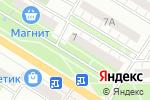 Схема проезда до компании Новофарм в Новокуйбышевске