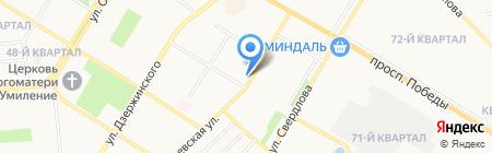 Элекснет на карте Новокуйбышевска