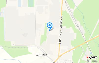 Местоположение на карте пункта техосмотра по адресу Кировская обл, г Кирово-Чепецк, ул Производственная, д 10 к 14