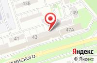 Схема проезда до компании Фасад в Новокуйбышевске