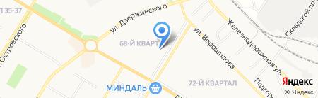 Comepay на карте Новокуйбышевска
