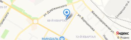 Куры-гриль на карте Новокуйбышевска