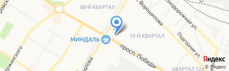 Банкомат Поволжский банк Сбербанка России на карте Новокуйбышевска