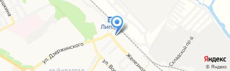 СтройМаркет на карте Новокуйбышевска