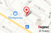 Схема проезда до компании Коника в Новокуйбышевске
