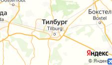 Отели города Тилбург на карте