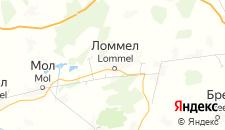 Отели города Ломмель на карте
