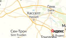 Отели города Хасселт на карте