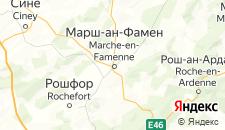 Отели города Марш-ан-Фаменн на карте
