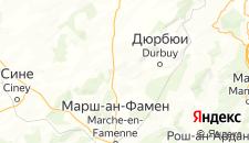 Отели города Сом-Лёз на карте