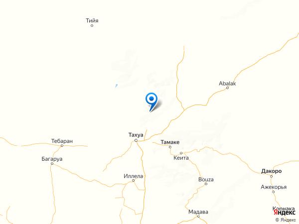 Баку на карте