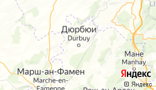 Отели города Дюрбюи на карте