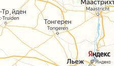 Отели города Тонгерен на карте
