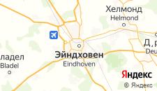 Отели города Эйндховен на карте