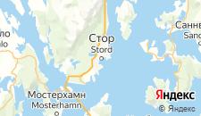 Отели города Стур на карте