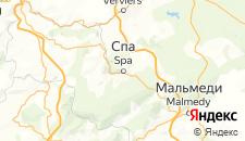 Отели города Спа на карте