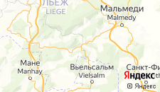 Отели города Труа-Пон на карте