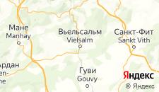Отели города Вьельсальм на карте
