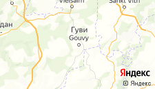 Отели города Гуви на карте