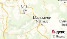 Отели города Франкоршамп на карте