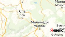 Отели города Сар-ле-Спа на карте