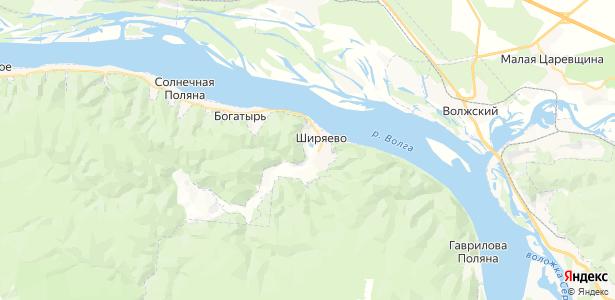 Ширяево на карте