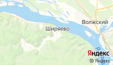 Отели города Ширяево на карте