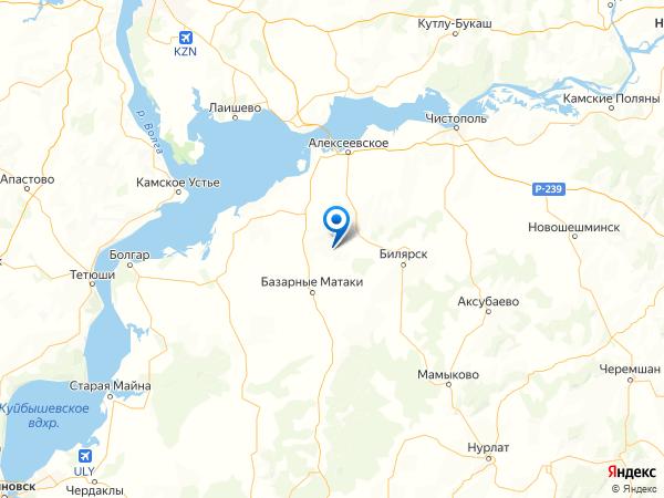 поселок Савинский на карте