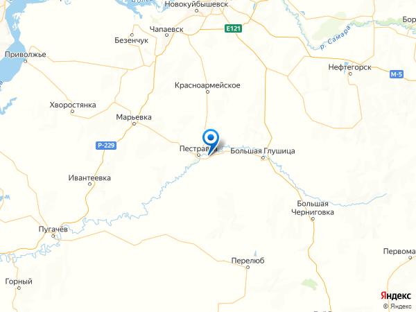 село Высокое на карте
