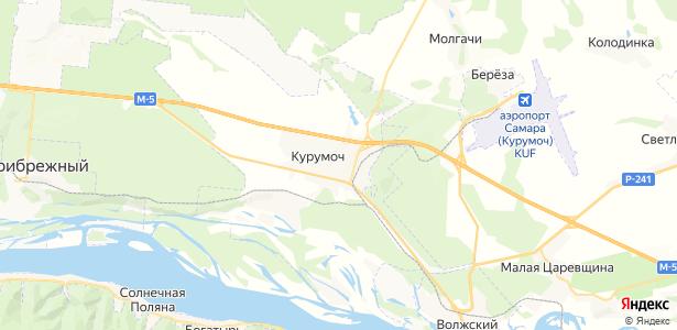 Курумоч на карте