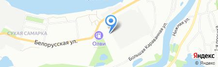 Пятерочка+ на карте Самары