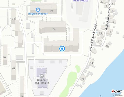 Товарищество собственников жилья «Маяк 20» на карте Самары