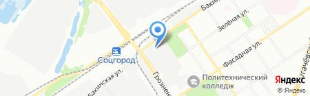 Глория-мебель на карте Самары
